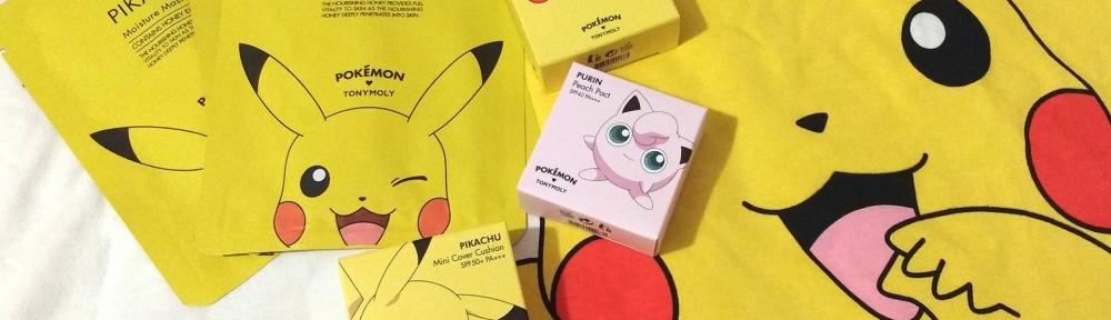 Colección Pokemon Tony Moly Pikachu