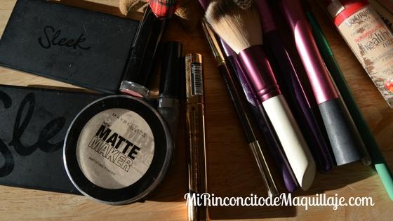 Mis básicos de maquillaje